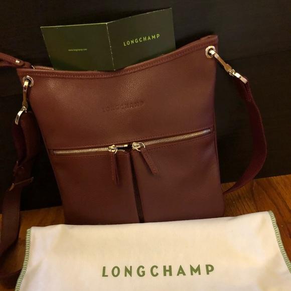 299a0f823ba Longchamp Bags   Veau Leather Crossbody Bag   Poshmark